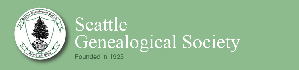 Seattle Genealogical Society